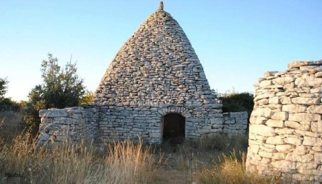 Architecture en pierre sèche