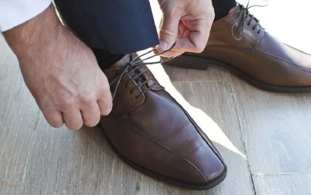 Chaussures rehaussantes, mais classe