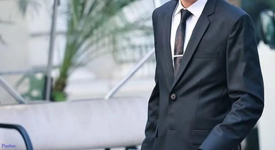 Pince à cravate pour homme stylé