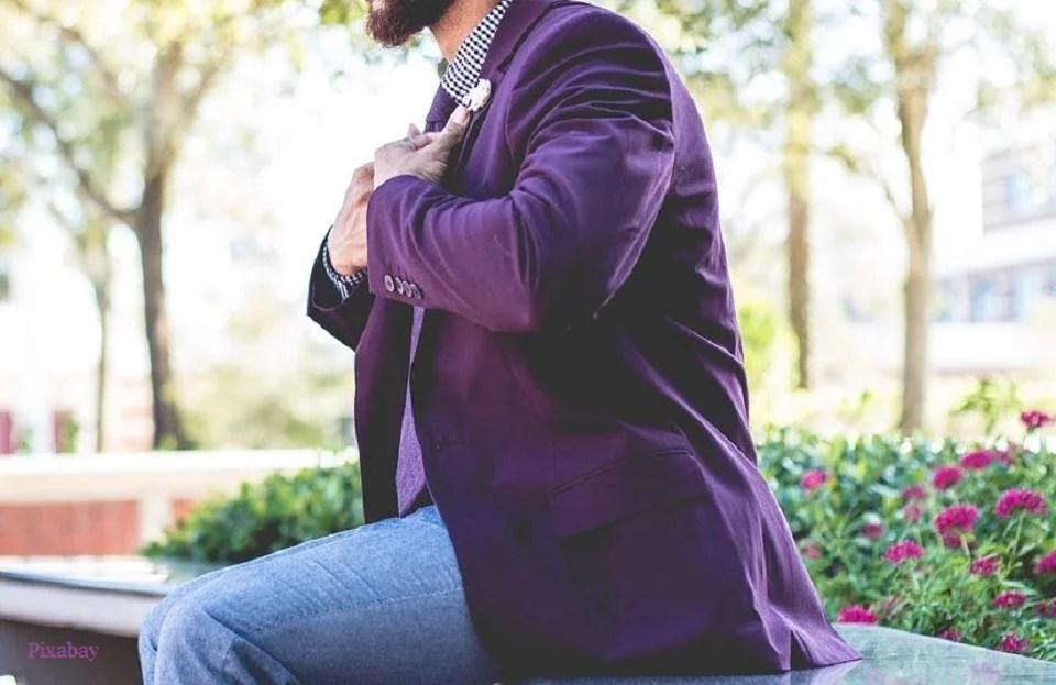 Porter du violet, c'est tendance