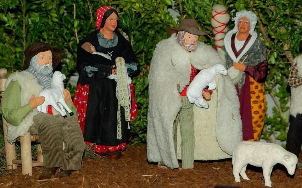 Santons de Provence et la pastorale