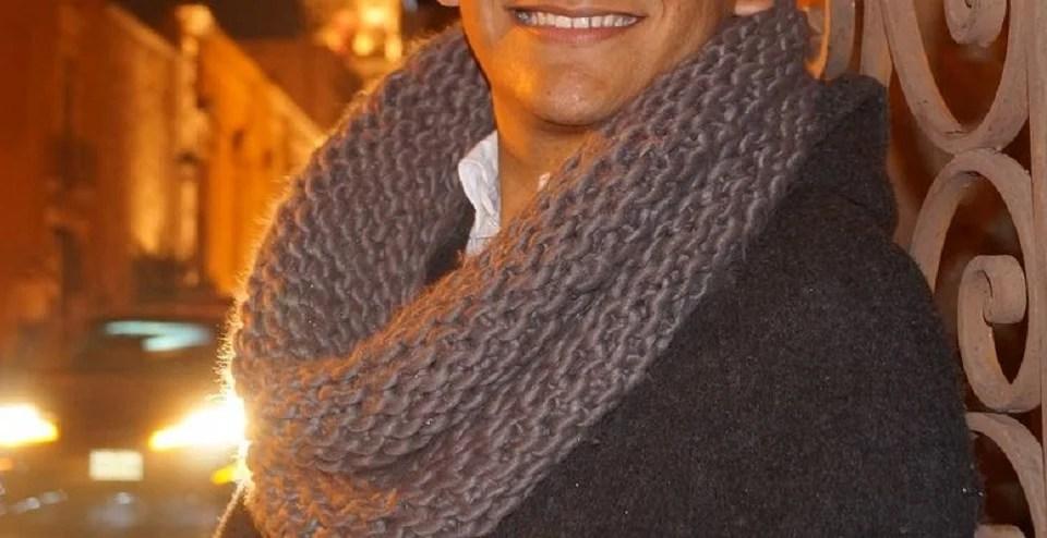 snood homme en laine épaisse