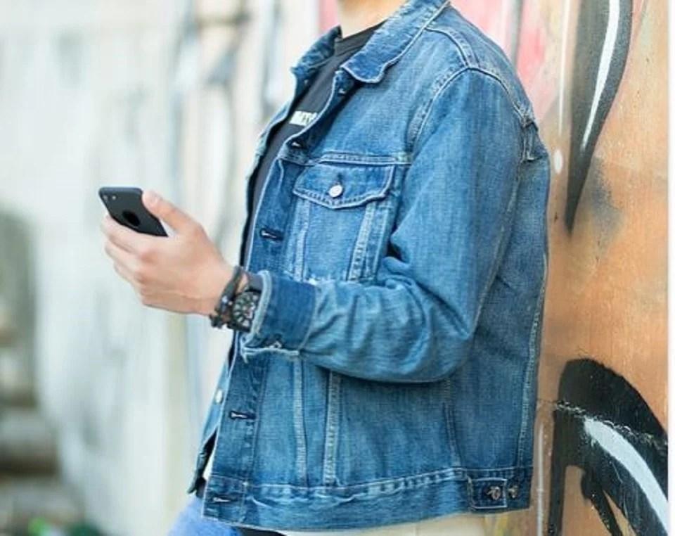 la veste en jean homme, un blouson denim au top