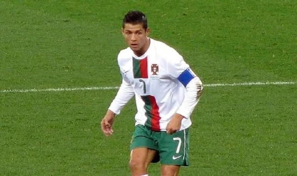 maillot de foot pas cher de rêve : celui de Ronaldo