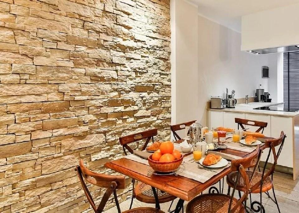 mur imitation pierre : comment habiller vos murs pour leur donner l'aspect de la pierre