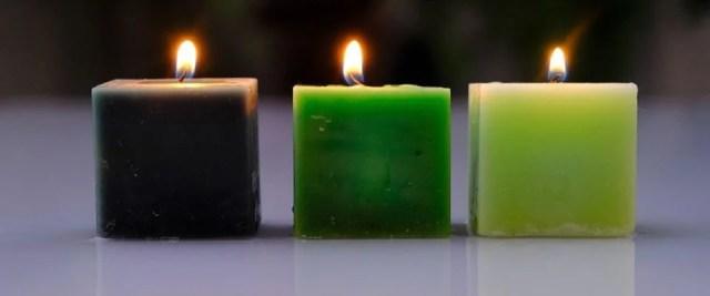 Un design masculin épuré pour bougies parfumées