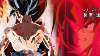 Goku's new transformation in the crossover episode between one piece and Dragon Ball Super