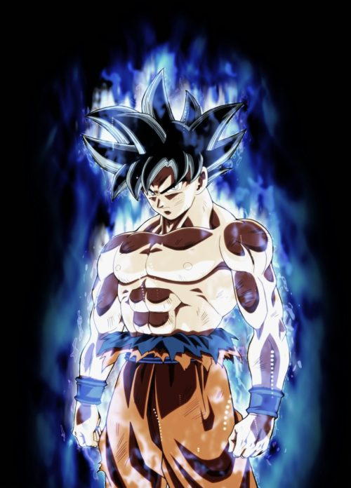 goku's new transformation in dragon ball super 109-110