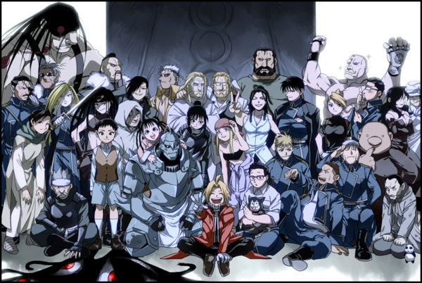 Fullmetal Alchemist brotherhood best anime show