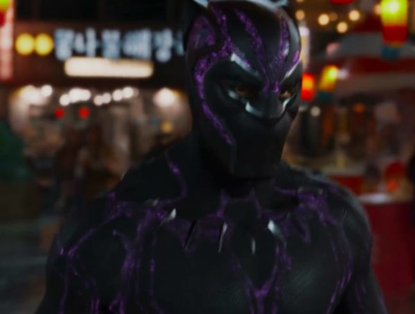 Black Panther's new suit