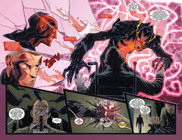 New 52 Reverse Flash try to kill his father