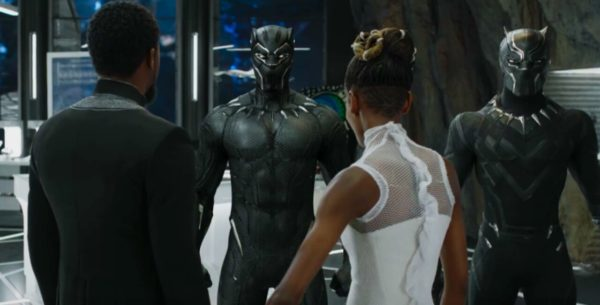 Shuri and T'Chall