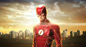 Grant Gustin as Barry Allen as the Flash