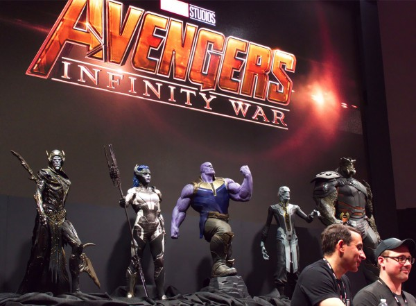 Thanos and his children-Black Order in D23 Expo event