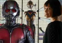 Ant-Man and Hope as the Wasp