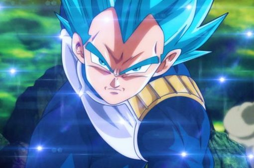 Ultra Super Saiyan Blue Vegeta in DBS episode 123