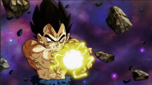 Vegeta in Dragon Ball Super episode 128