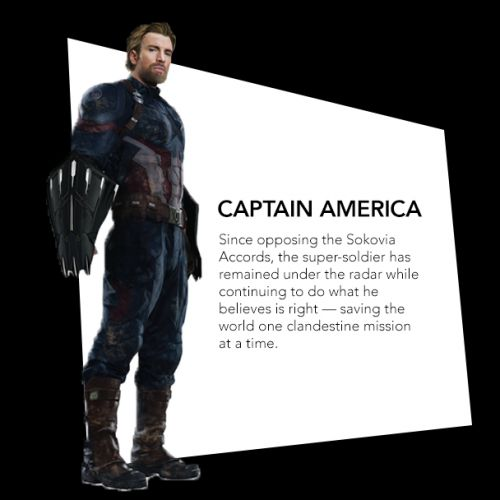 Steve Rogers as Nomad