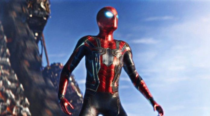 Peter Parker's new Iron Spider suit in Avengers: Infinity War