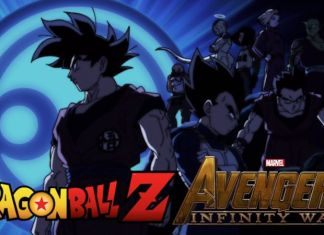 Dragon Ball Super new poster Avengers Infinity War