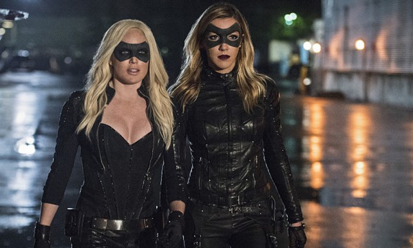 Sara Lance and Laurel Lance as Black Canary