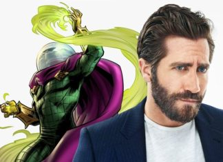 Jake Gyllenhaal as Mysterio in Spider-Man 2 villain