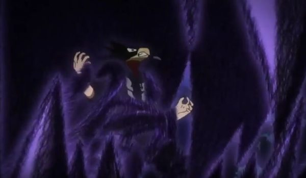 Tokoyami's quirk shadow in MHA 44