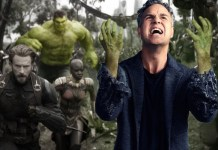 Bruce Banner as Hulk in Avengers: Infinity War