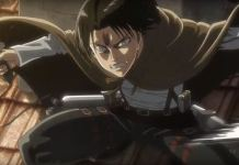 Captain Levi Attack on Titan Smoke Signal