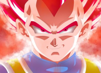 Vegeta Super Saiyan God Dragon Ball Super Broly