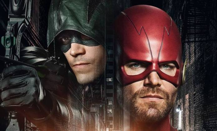 Elseworlds the Flash Arrow look