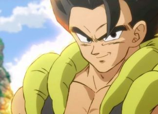 Gogeta Dragon Ball Super Broly trailer