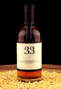 Cutler's 33 Straight Bourbon Whiskey