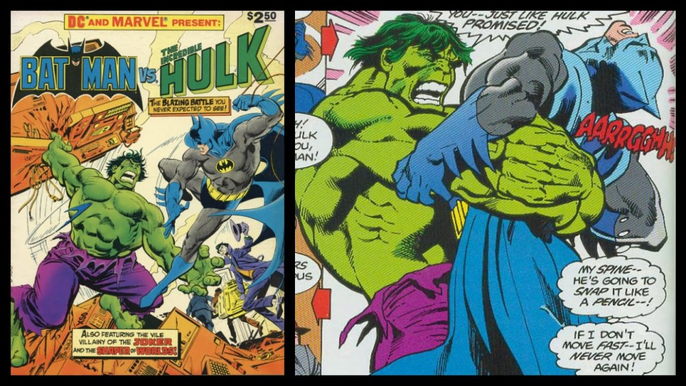 Batman vs Hulk