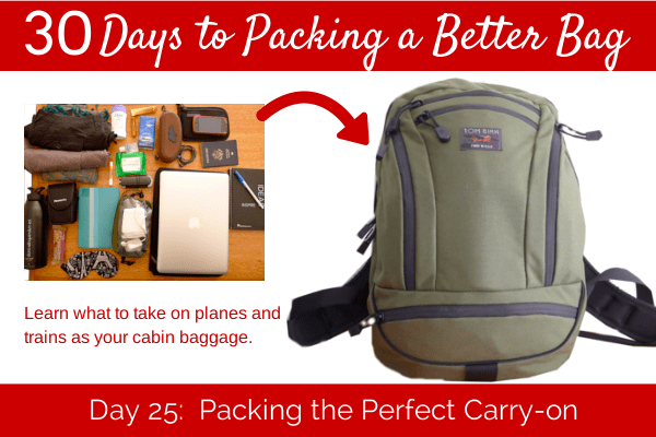 Day 25 The Perfect Carryon Packing List  Her Packing List