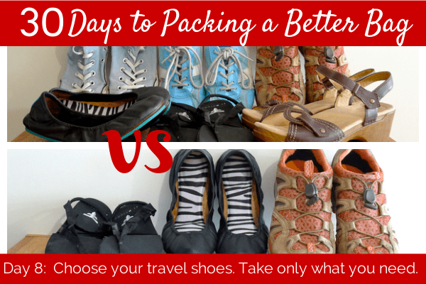 Choose Your Travel Shoes  Her Packing List