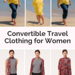 The Best Convertible Travel Clothing For Women Pack Less Do More Her Packing List
