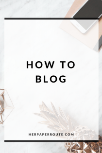 How To Start A Blog - The Easy No BS Guide - Styled Stock Photos For Your Blog - Make Money Blogging - Passive Income - Passive Income - Blog For Profit - Affiliates - Content - Social Media - Management - SEO - Promote | www.herpaperroute.com