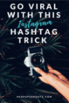 Instagram Shadowban Trick: This trick makes it possible to reach potential followers and customers on Instagram, without the risk of being Shadowbanned for the wrong hashtag.- Have You Been Shadowbanned? How To Actually Make Money Blogging Tools And Resouces, avoid the instagram shadowban get unshadowanned www.herpaperroute.com