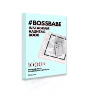 BossBabe Instagram Hashtag Book - eBook best hashtags avoid banned hashtags shadowban best hashtags for bloggers   www.herpaperroute.com