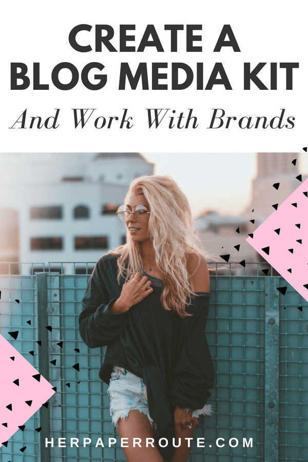 How to create a media kit, how to create a blog media kit, media kit templates, media kit free, media kit examples, media kit influencer, influencer marketing