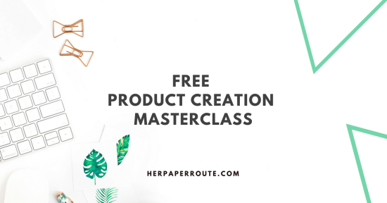 The Product Creation Masterclass Free Convertkit free convertkit masterclass   HerPaperRoute.com