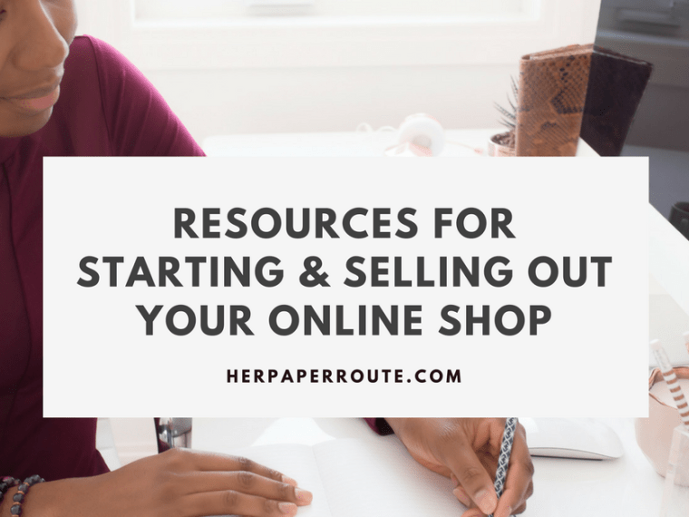 Resources For Starting & Selling Out Your Online Shop Shopify Amazon Integration Feature - Start An Online Store - Sell On Amazon - Social Media - Management - SEO   www.herpaperroute.com