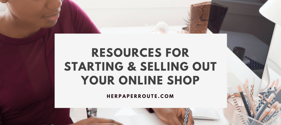 Resources For Starting & Selling Out Your Online Shop Shopify Amazon Integration Feature - Start An Online Store - Sell On Amazon - Social Media - Management - SEO | www.herpaperroute.com