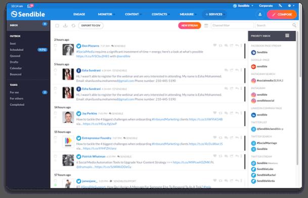 Sendible - Social Media Marketing Tools | HerPaperRoute.com