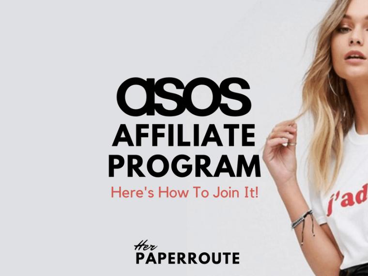 ASOS Affiliate Program - Make Money Blogging Influencer Marketing - Nasty Gal Affiliate Program Become A Nasty Gal Affiliate-Make Money Blogging   HerPaperRoute.com