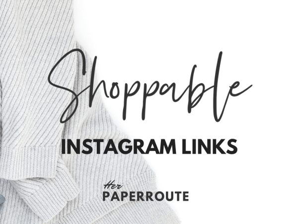 Shoppable Instagram Links! Sell on Instagram with shoppable clickable links. Links on Instagram. make money blogging - High Paying Affiliate Programs Bloggers Can Join - Make Money Blogging | www.herpaperroute.com