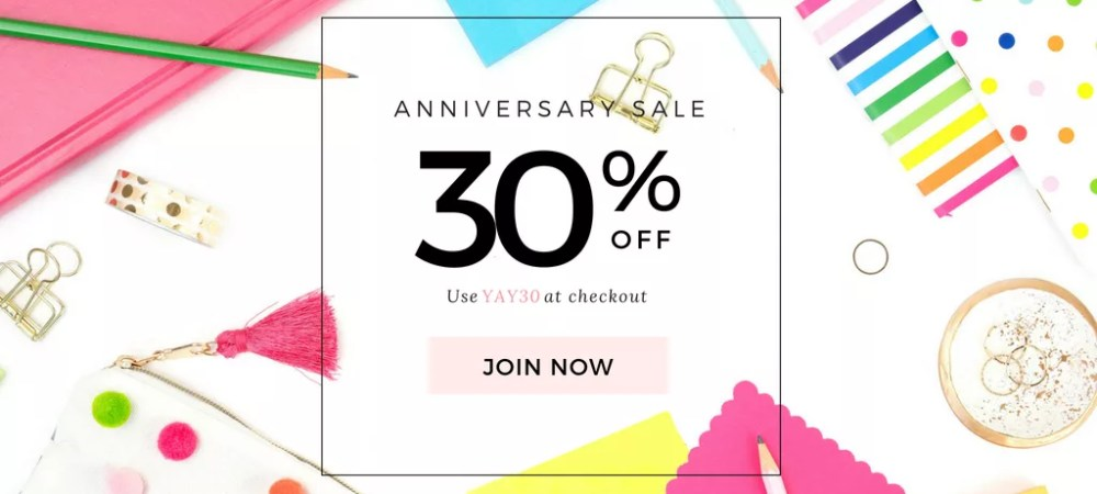 Styled Stock Society Membership Anniversary Sale | www.herpaperroute.com