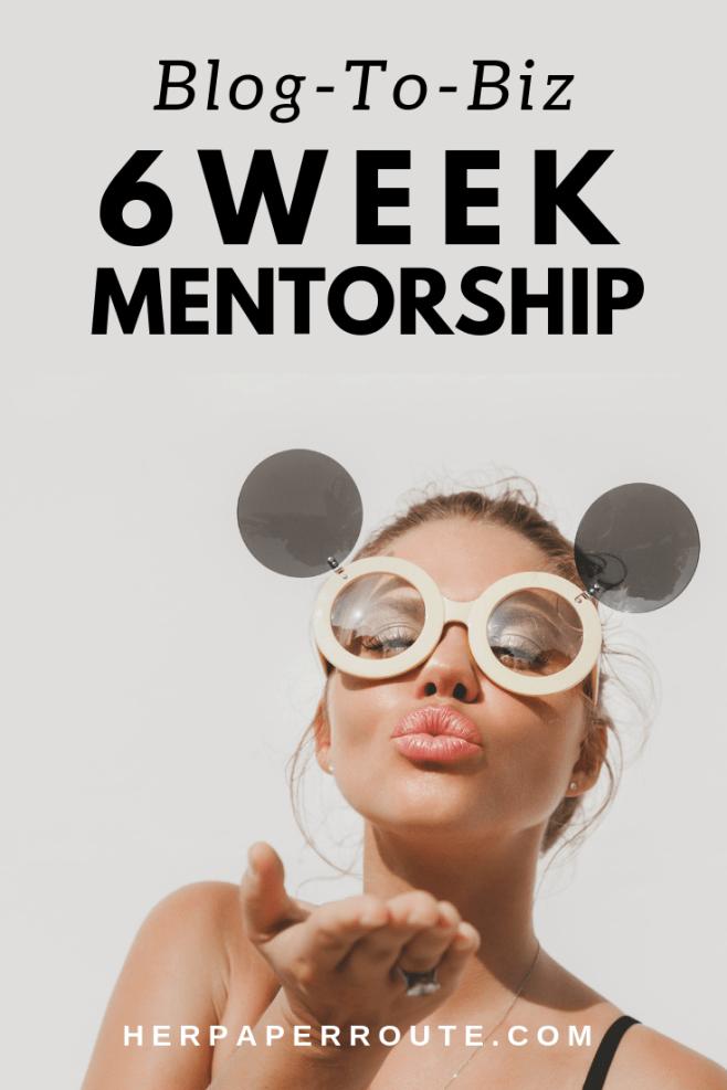 Blog to biz starting a blog make money HerPaperRoute blog mentorship program blog coach sell your blog flippa coach herpaperroute.com
