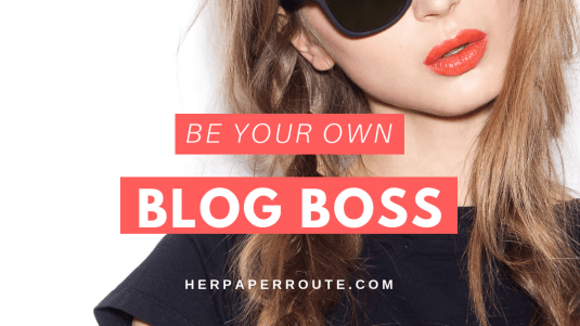 Affiliate marketing course be your own blog boss course course herpaperroute blogging courses Be Your Own Blog Boss - Profitable From The Start - The Complete Blogging Business- Everything You Need To Know To Create, Run, Market And Monetize A Blog In 2017 - online course | herpaperroute.com